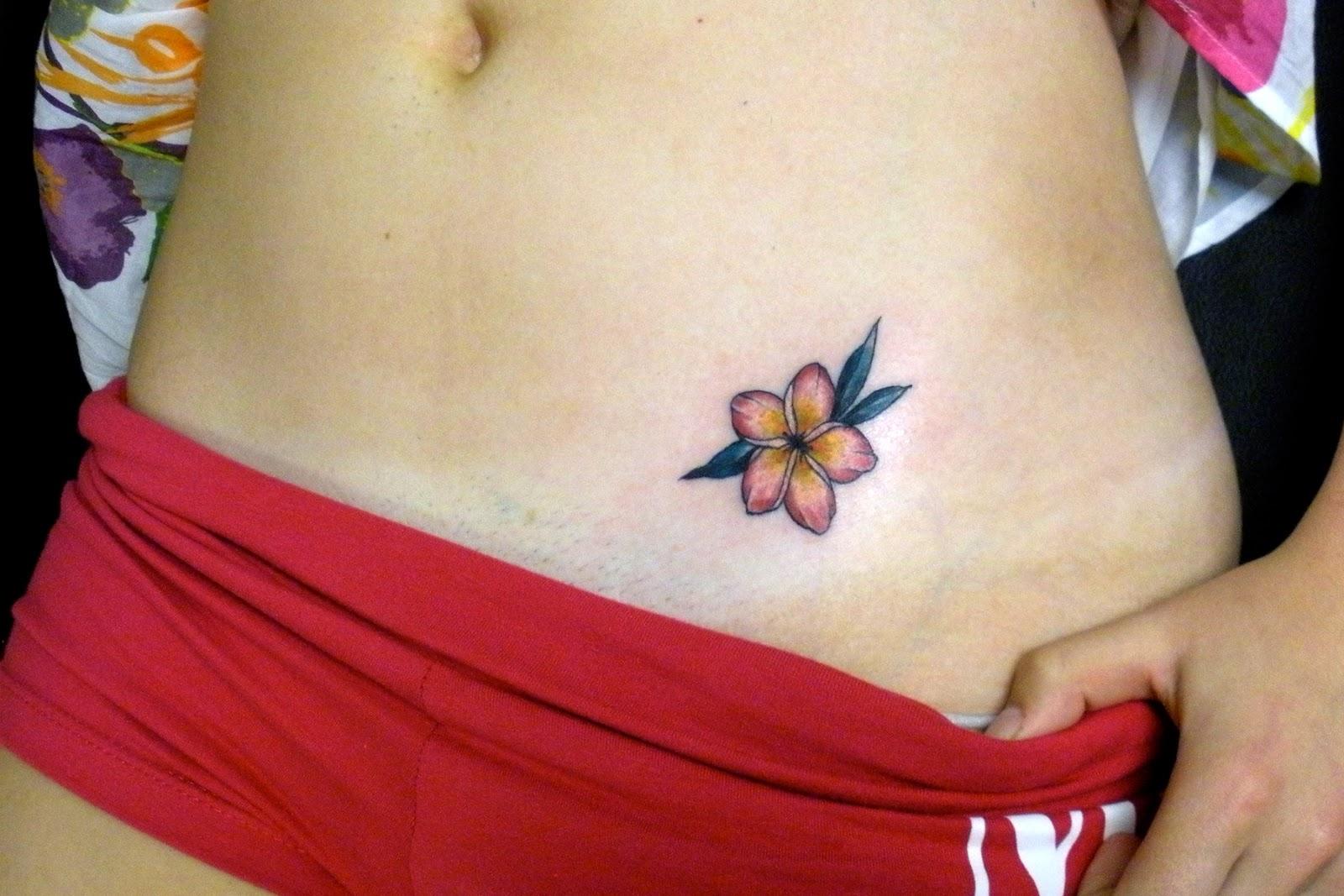 Sweet Trade Tattoo Maui Hawaiian Flower Tattoos