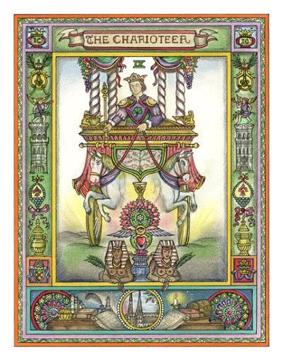 El carruaje - carta del Tarot