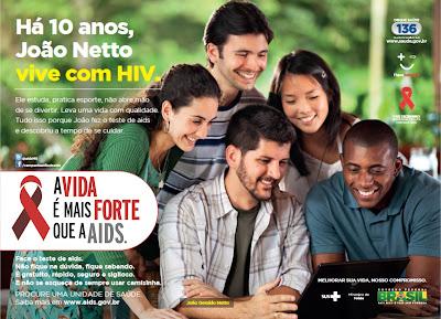 A vida é mais forte que a AIDS