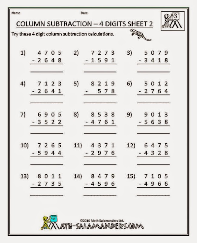3Rd Grade Math Worksheets Rounding – Free Worksheets for 3rd Grade Math