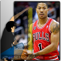 What is Derrick Rose's height?
