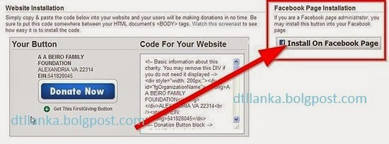 how to add a donate button to your facebook page