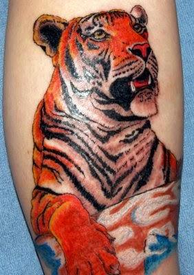 Tatuagens de Tigre para Homens