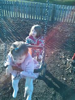 pushing sister