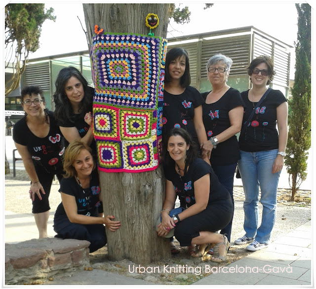 #urbanknittingbarcelonaparque