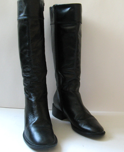 Womens Tall Black Leather Boots | Homewood Mountain Ski Resort