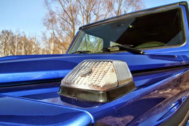 gelandewagen blue