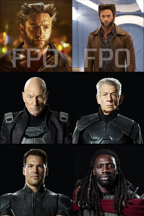 X-Men Dias del Futuro Pasado: Magneto, Lobezno, Coloso