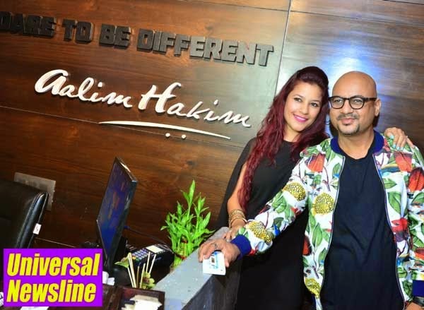 Universal newsline international business lifestyle for Aalim hakim salon delhi