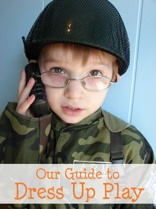 a guide to dress up play for kids