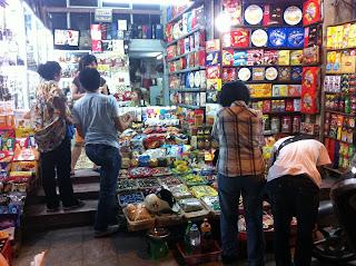 Mercadillo en Hanoi (Vietnam)