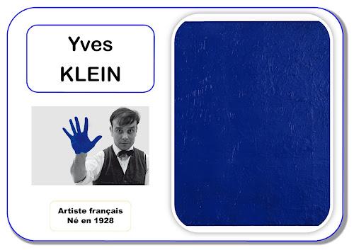 Yves Klein - Artiste en maternelle