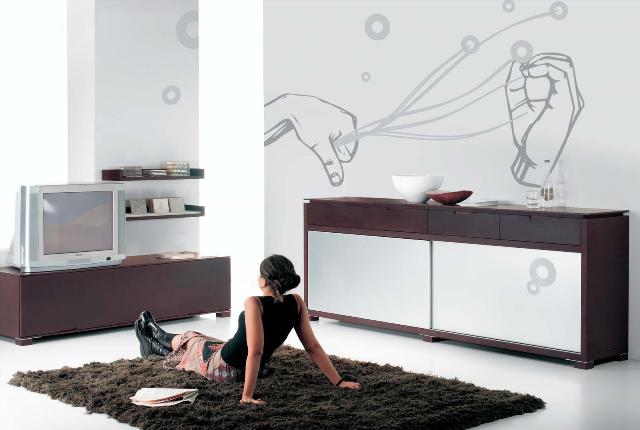 Dise o de interiores arquitectura motivos decorativos for Diseno de paredes para interiores