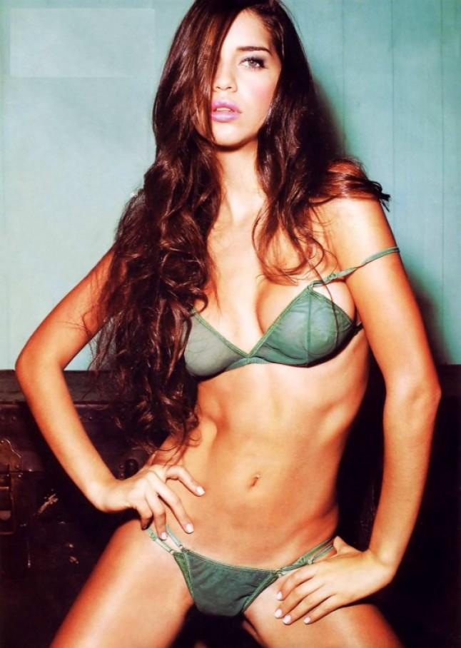 Celebrities In Hot Bikini Zaira Nara Argentine Tv Host