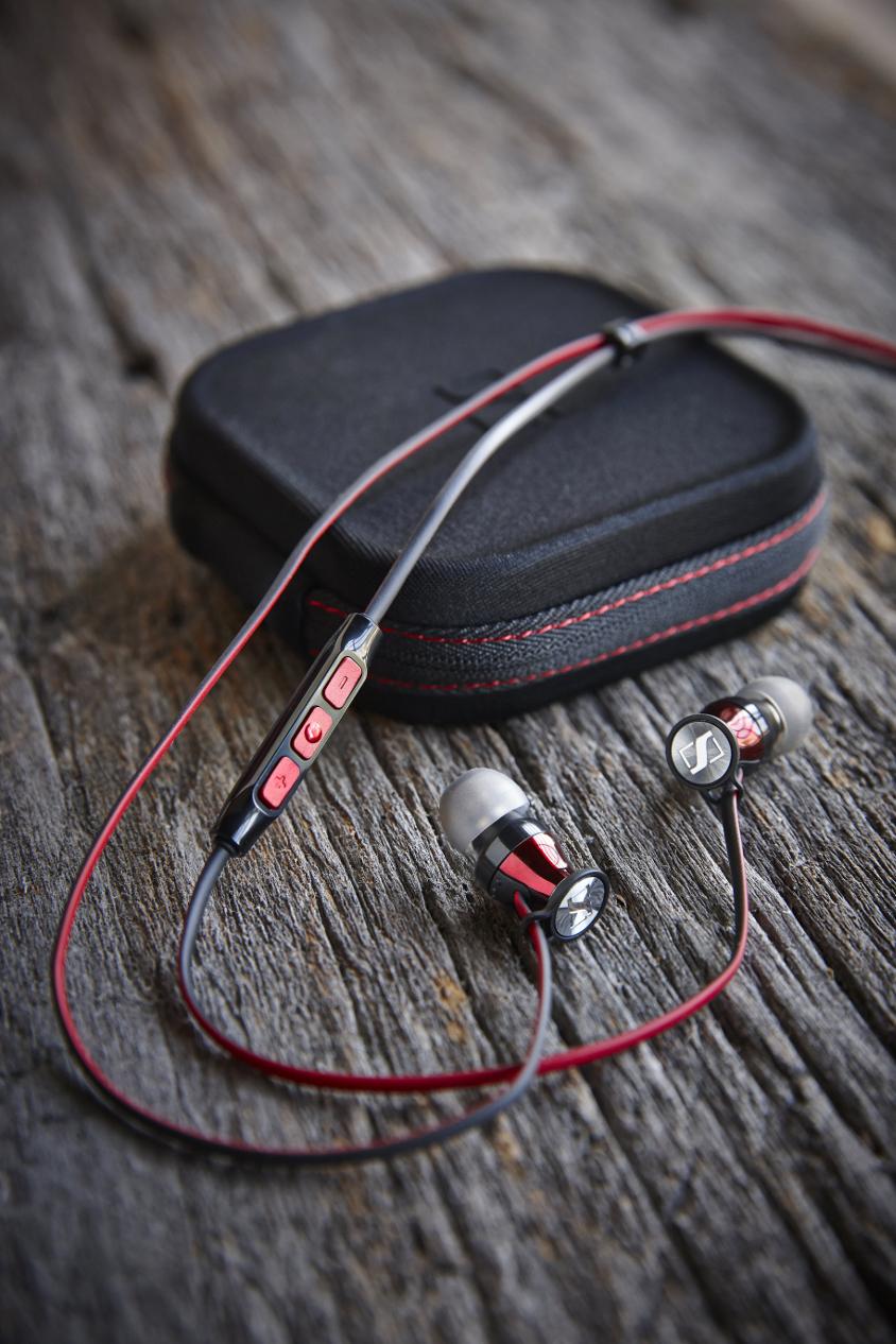Sennheiser Momentum In-Ear mit Kopfhörertasche