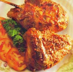 Resep Ayam Panggang Cabai