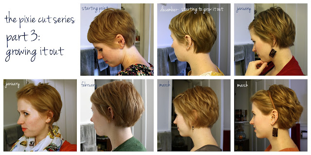 unspeakable visions: the pixie cut series, part 3: growing it out