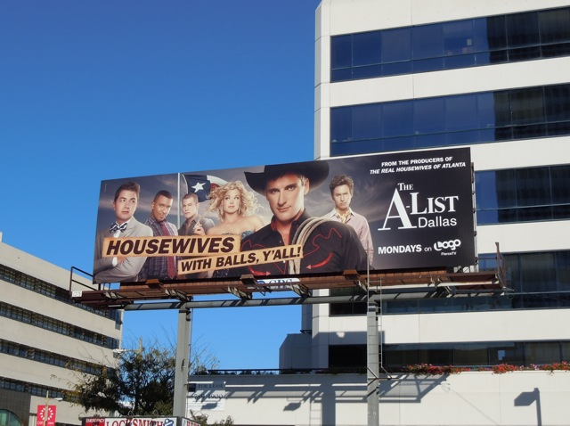 A-List Dallas billboard