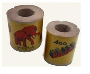 El rollo de papel del elefante.
