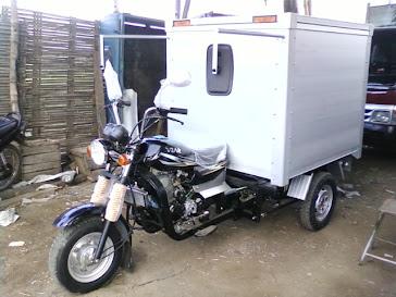 Box Aluminium untuk 3 roda