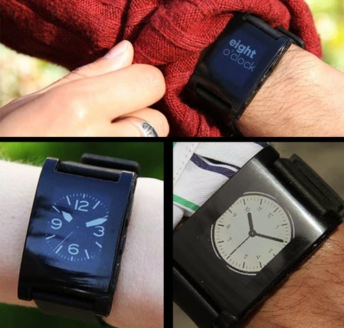 01-Watchfaces-Pebble-E-Paper-Watch-Iphone-Android-Facebook-Calendar-Silent-Vibrate-Caller-Id-Bluetooth-Twitter-www-designstack-co