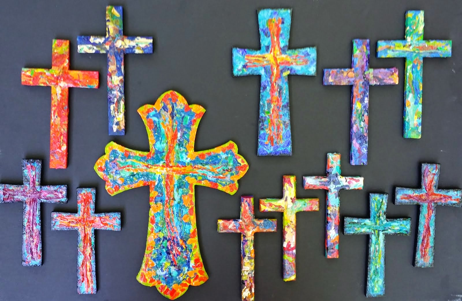 Easter Crosses 2014