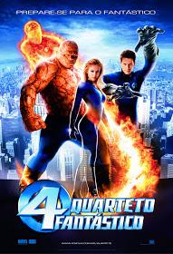 Filme Quarteto Fantástico Dublado AVI DVDRip