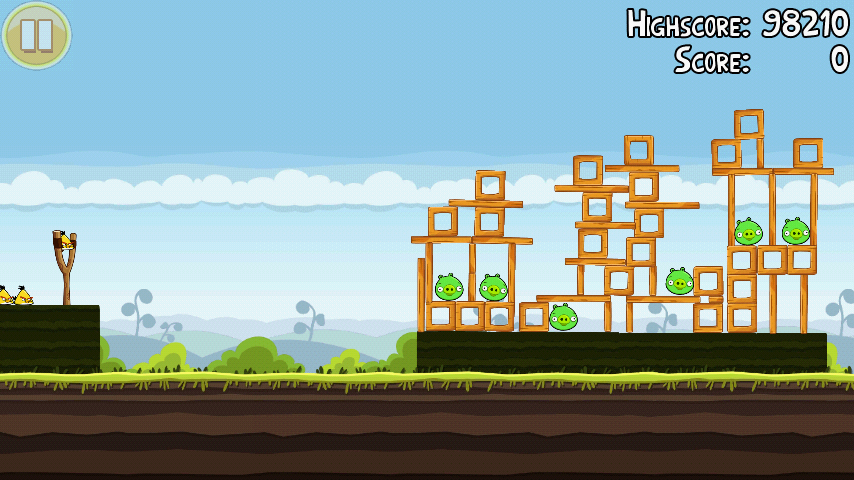 Angry Birds 4-12 Mighty Hoax