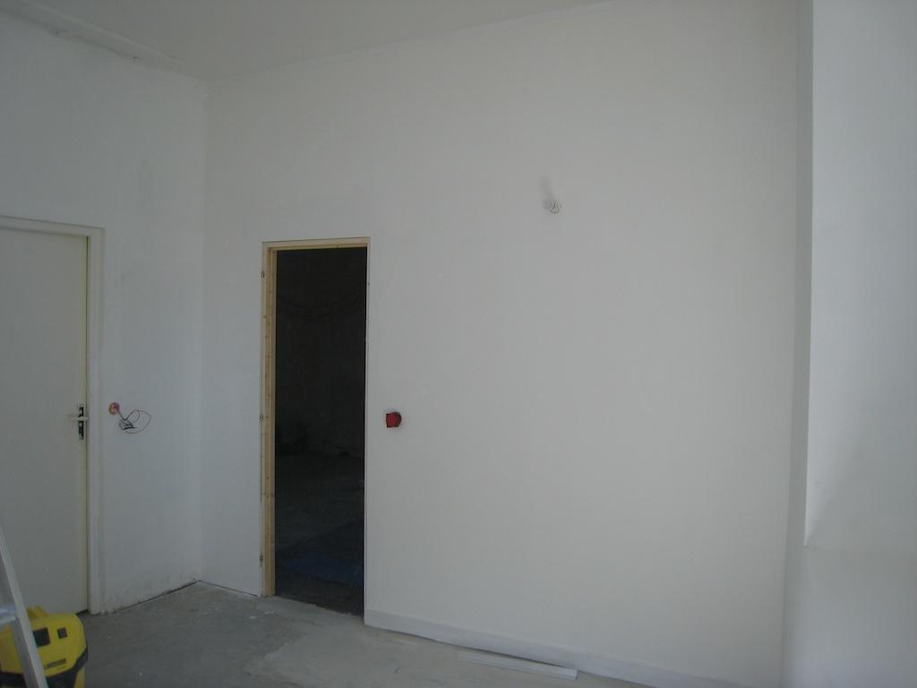 Notre maison en cours de r novation pose papier for Pose de ragreage