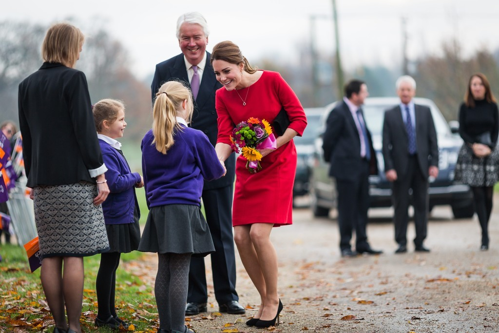 Catherine, Duchess of Cambridge visits an EACH