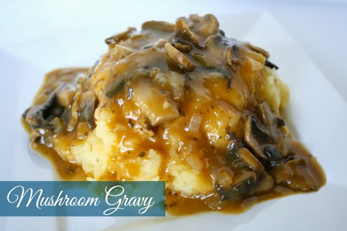 this wild mushroom gravy on kiersten s gorgeous oh my veggies blog