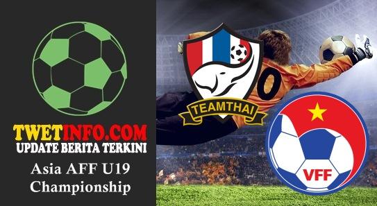 Prediksi Thailand U19 vs Vietnam U19, AFF U19 04-09-2015