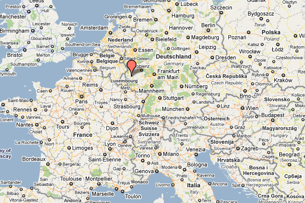 map of spangdahlem germany