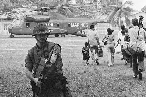 Evakuierung Phnom Penh