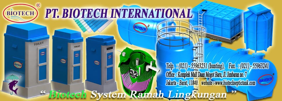 SEPTIC TANK BIOTECH, PORTABLE TOILET BIOTECH, FLEXIBLE TOILET FIBREGLASS, SEPTIK TENK BIO