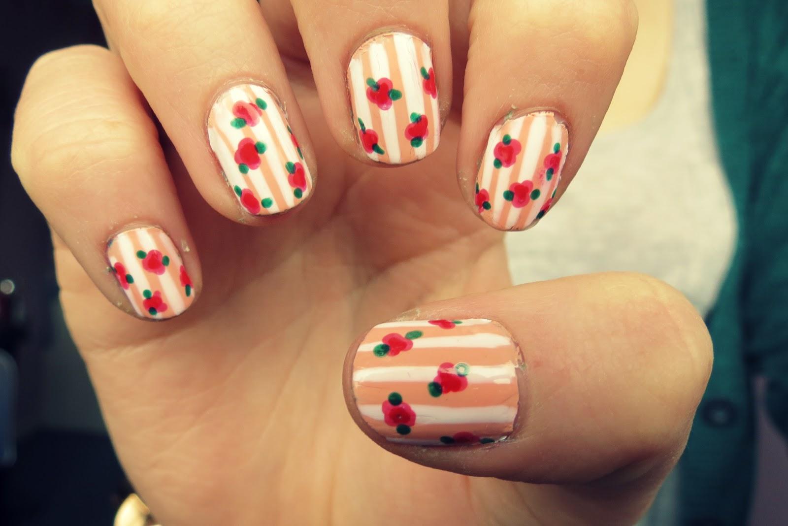 ... UK beauty, fashion and nail art blog: shabby chic cath kidston nails