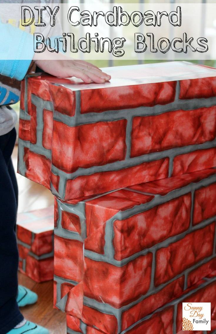 Sunny Day Family: DIY Cardboard Building Blocks: 60 Days ...