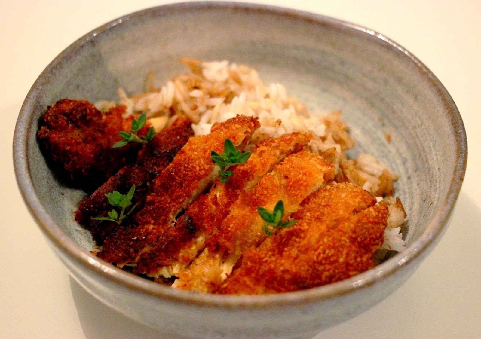 invitations aux voyages culinaires t127 torikatsu poulet pane a la japonaise chapelure coco. Black Bedroom Furniture Sets. Home Design Ideas