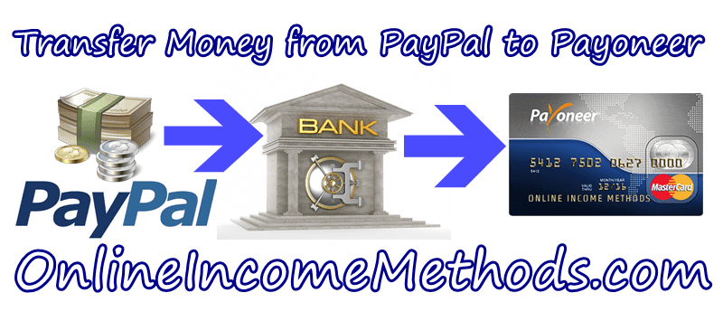 How to Transfer Money / Withdraw Funds from Paypal to Payoneer MasterCard?