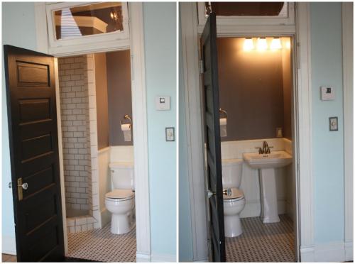 Transform Closet Into Bathroom Shower Home Decor