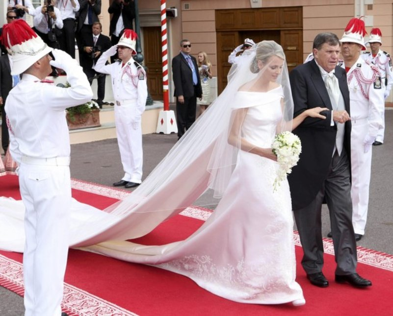 Monaco wedding dresses