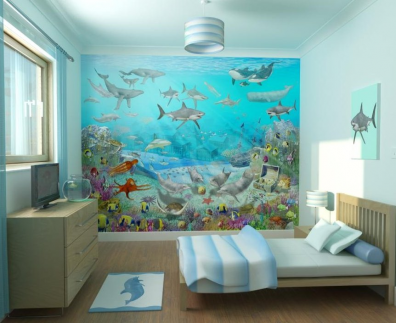 Muebles y decoraci n de interiores gigantograf as en el for Decoracion de interiores a distancia