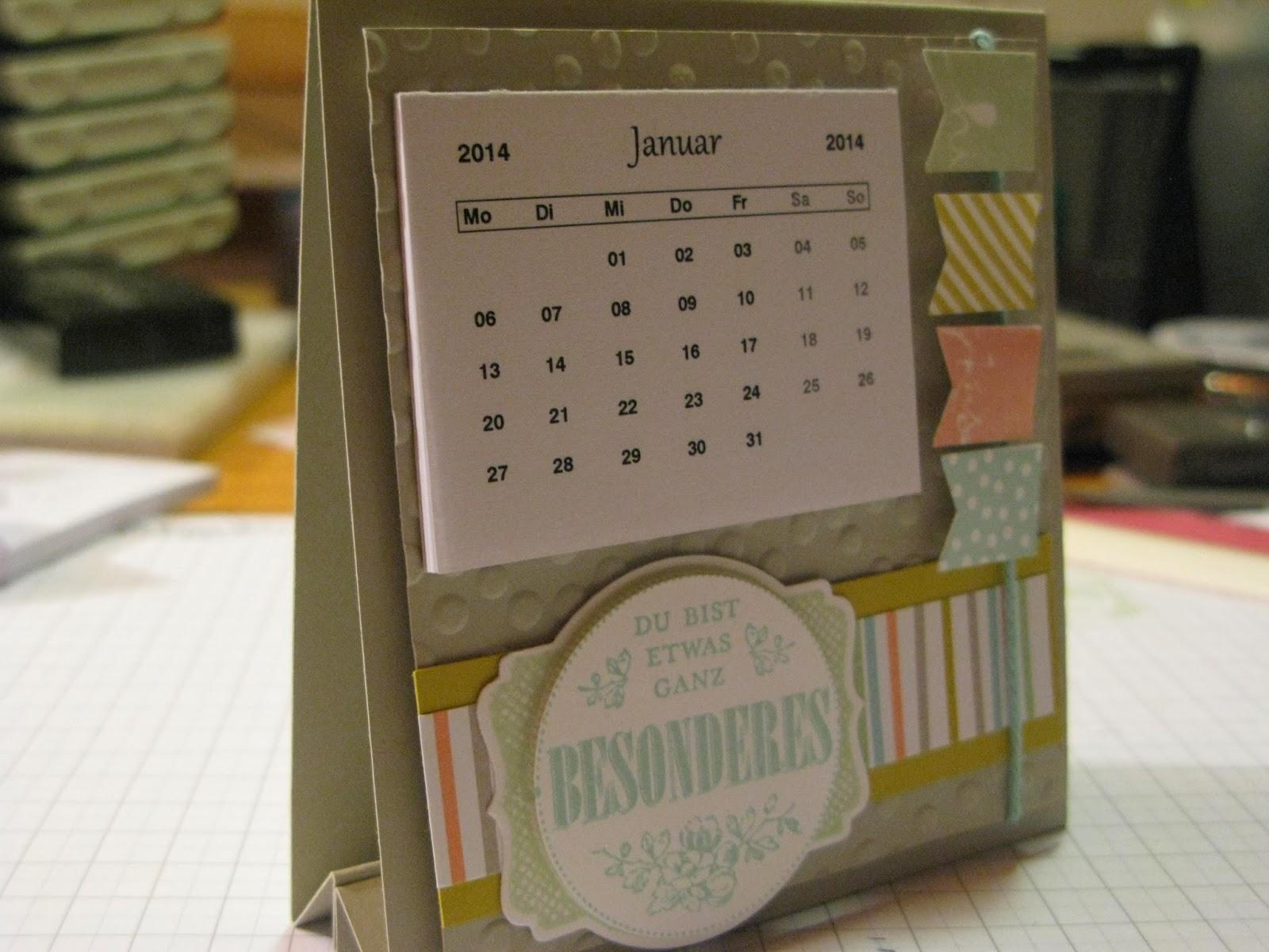 stampin mit scraproomboom ein kleiner tischkalender. Black Bedroom Furniture Sets. Home Design Ideas