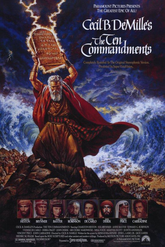 Mười Điều Răn Của Chúa - The Ten Commandments - 1956