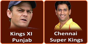 CSK Vs KXIP is on 2 May 2013.