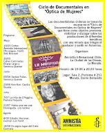 """Ciclo de Documentales en """"Óptica de Mujeres""""."""