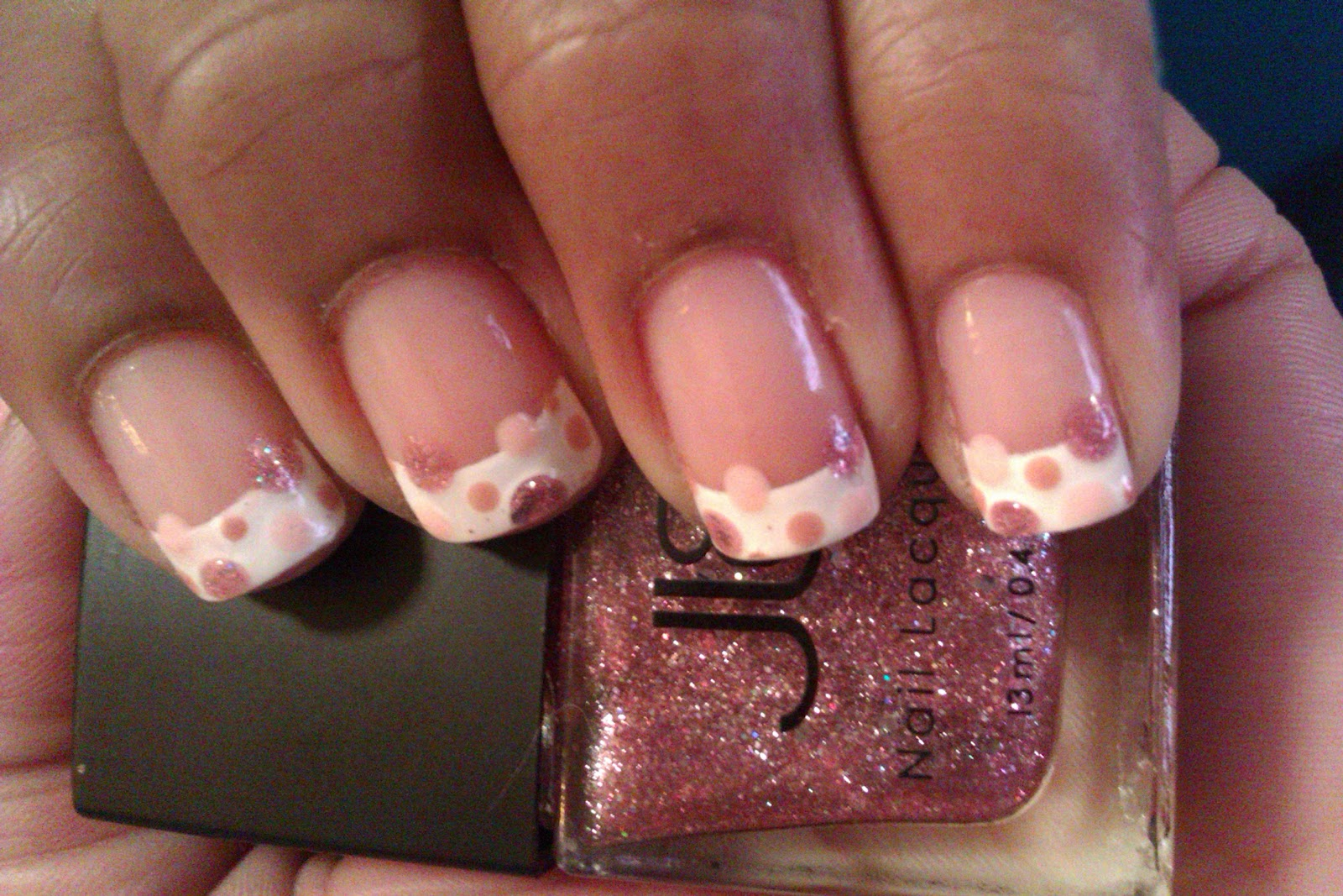 Fairly Charming Church Mani Think Pink