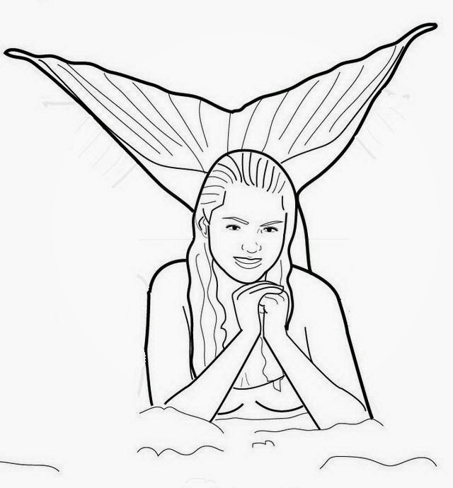 mako mermaids coloring pages - h20 just add water coloring pages free coloring pages