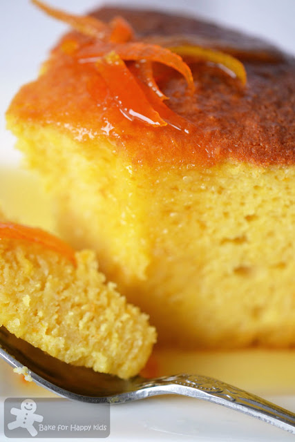 orange almond cake botrytis syrup