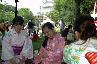 Kimono Festival fun with Kimono House NY